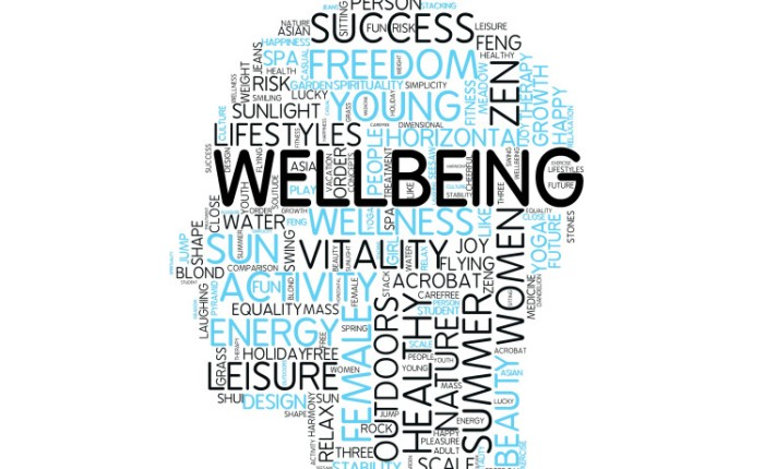 Why without your wellbeing you ain't got a thing…